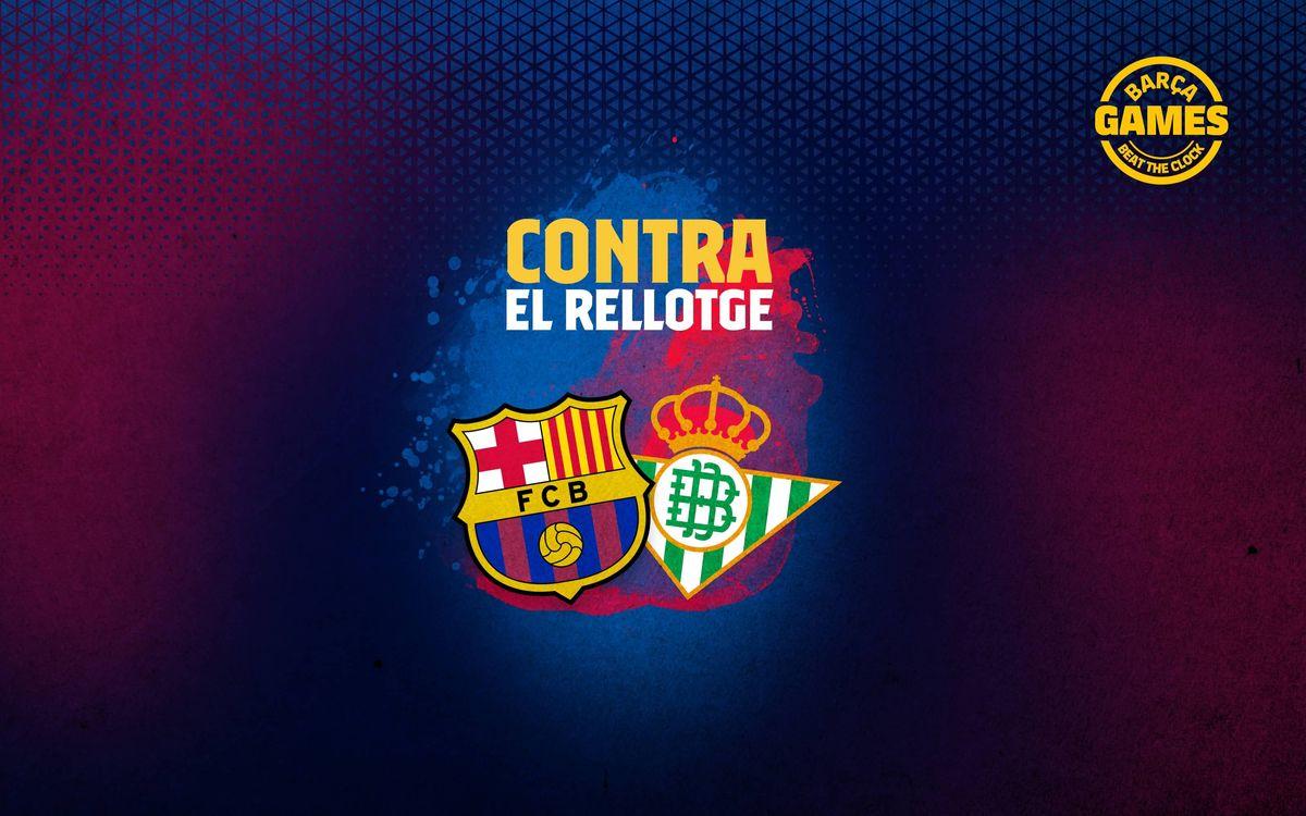 CONTRA EL RELLOTGE | Anomena els 18 futbolistes que han estat a Barça i Betis al s. XXI