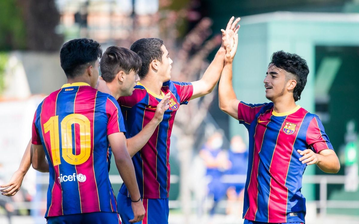 LIVE U19A FOOTBALL: Barça v Cornellà
