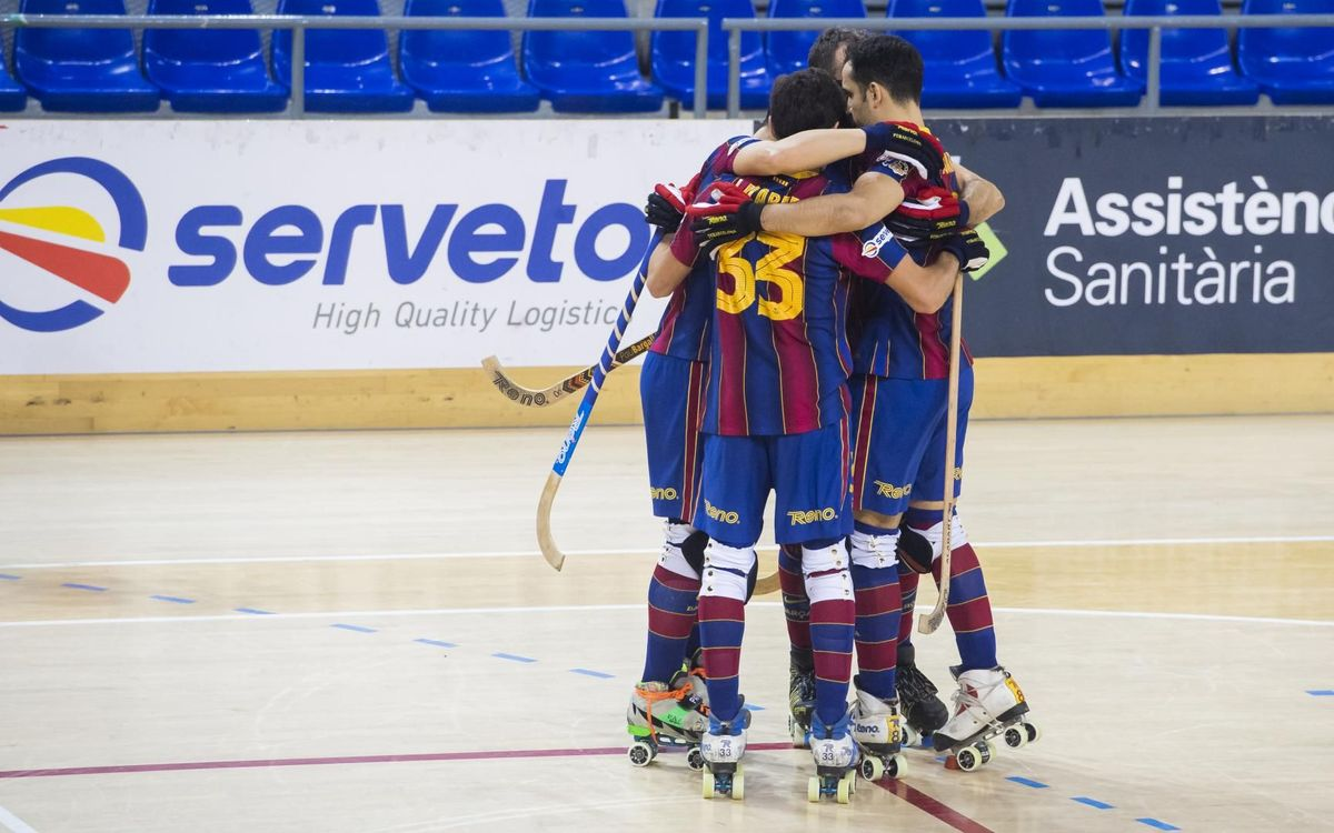 Barça 4-1 Calafell: Workmanlike victory at the Palau