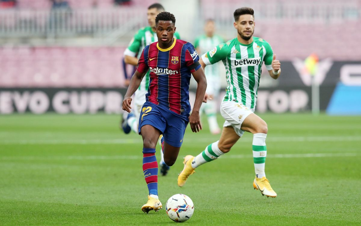 Ansu Fati picks up knee injury