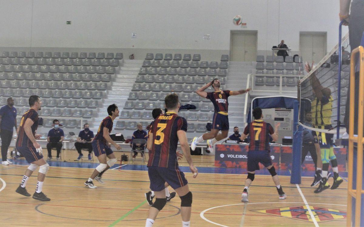 El Barça Voleibol masculino se reencuentra con la victoria