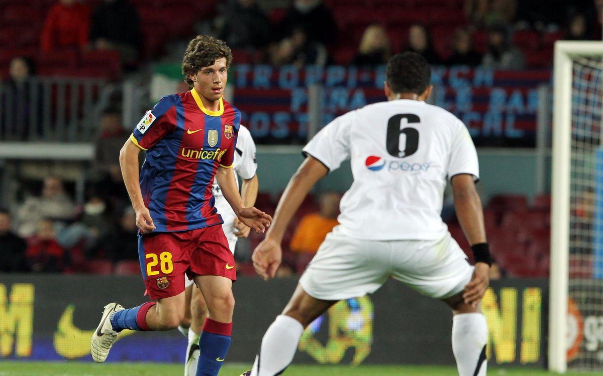 10 anys del debut de Sergi Roberto