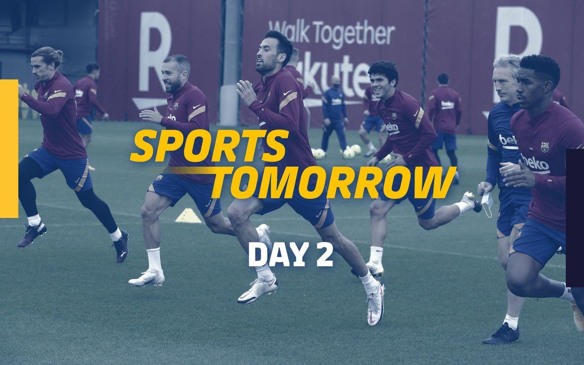 SPORTS TOMORROW - Dia 2