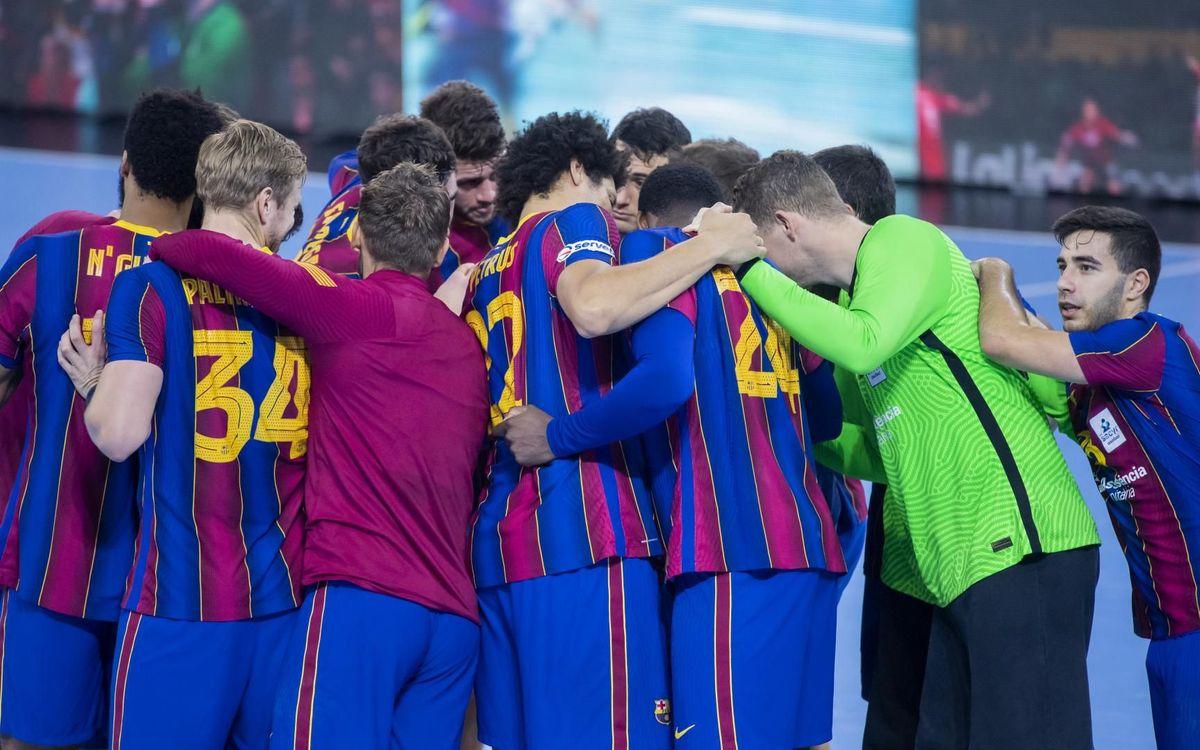 Barça - Villa de Aranda: Regreso con victoria (39-22)