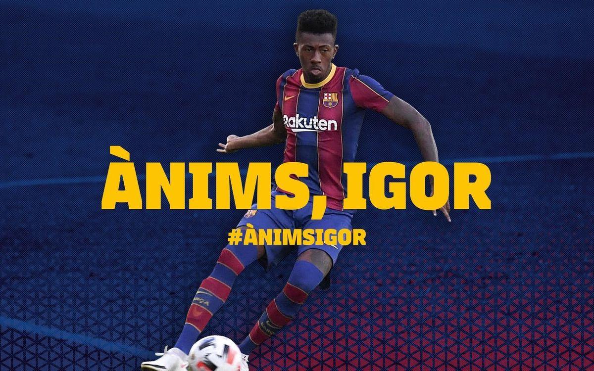 Igor Gomes, operado con éxito