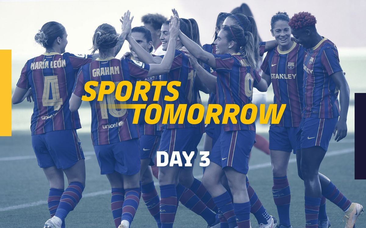 SPORTS TOMORROW - Dia 3