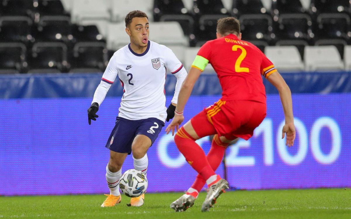 Sergiño Dest, called up for the US national team