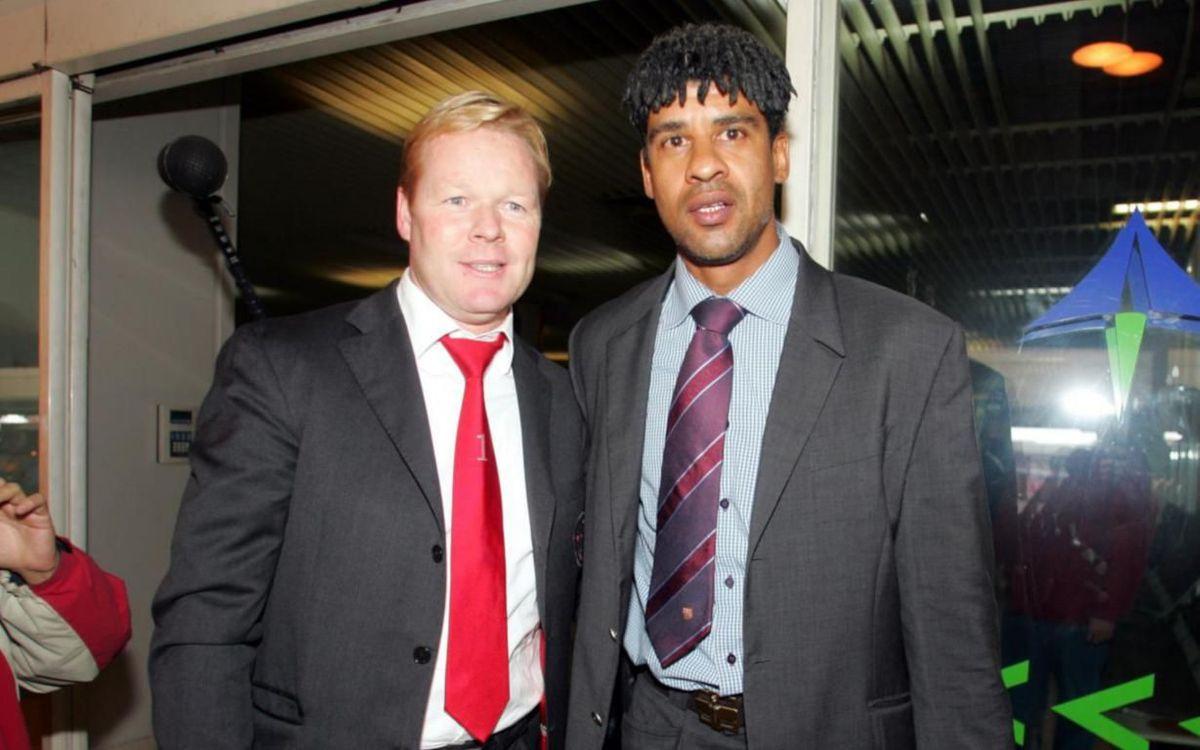 Rijkaard y Koeman ganaron títulos juntos en el Ajax y en la selección. FOTO: MIGUEL RUIZ