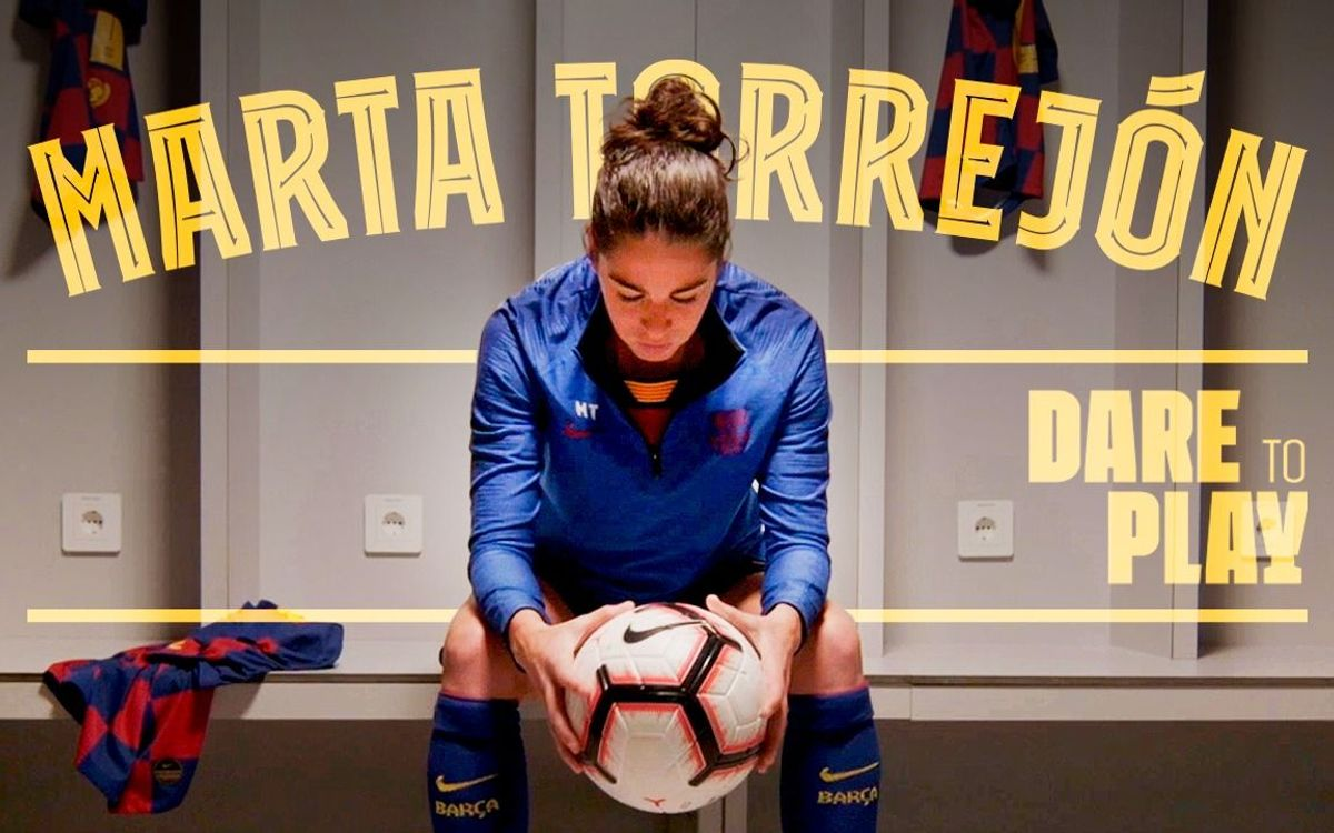 Marta Torrejón featured in 'Born to play' series