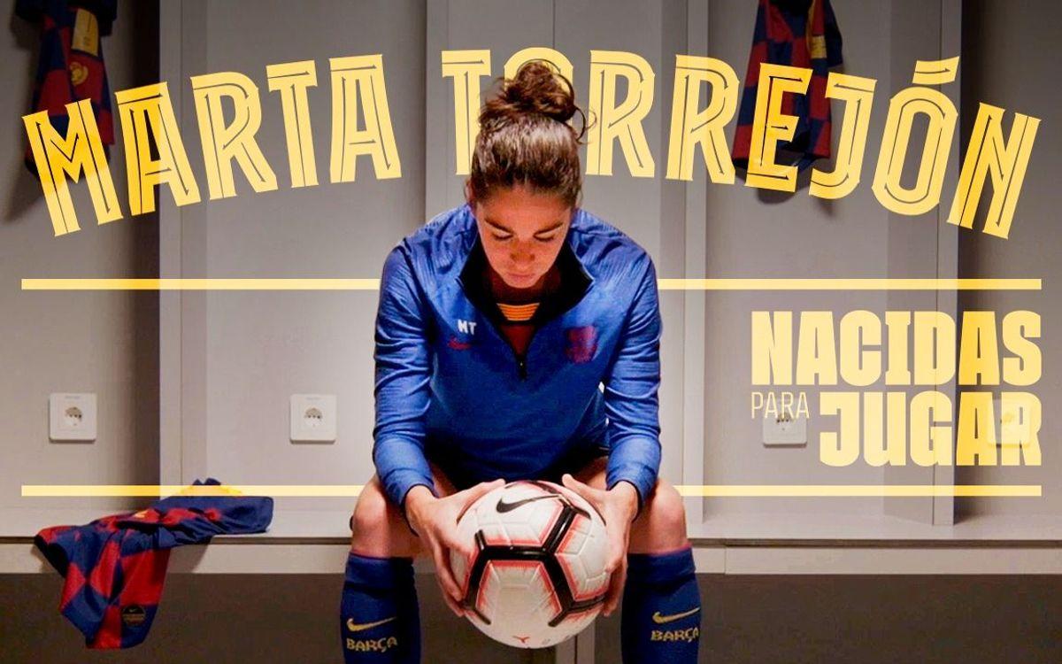 Marta Torrejón, protagonista de la serie 'Nacidas para jugar'
