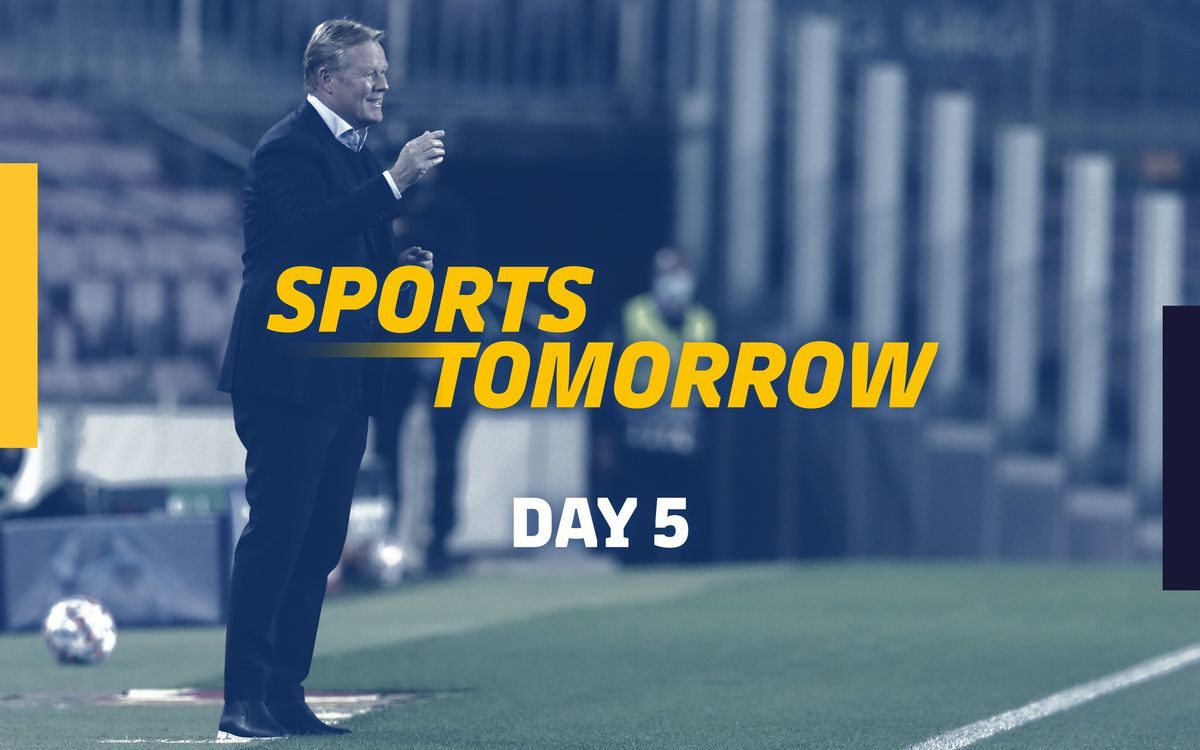 SPORTS TOMORROW - Day 5