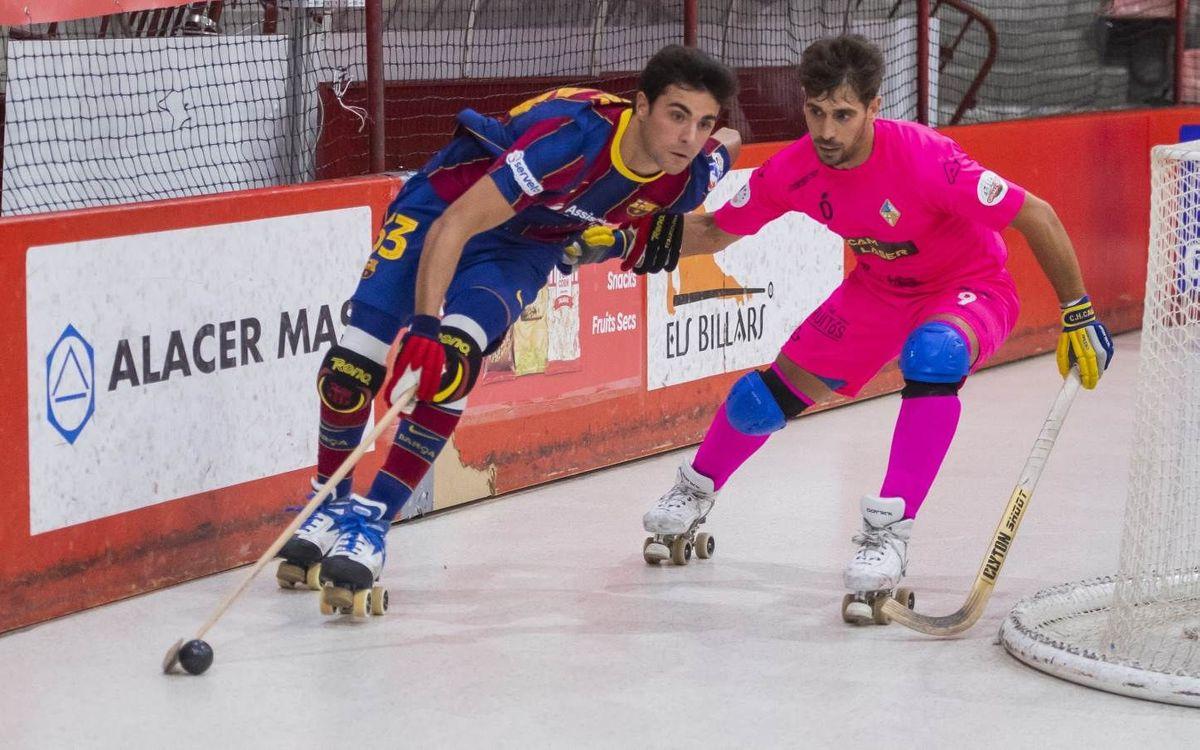 Recam Làser Caldes – Barça: Visita a un rival con ganas de competir