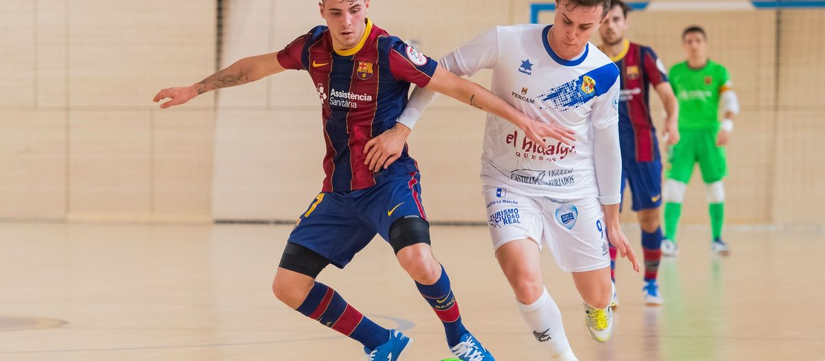 Barça B – Manzanares FS (2-2): Segueixen invictes
