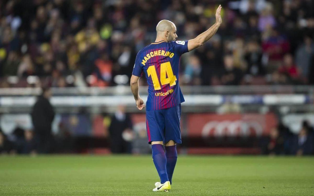 Javier Mascherano retires