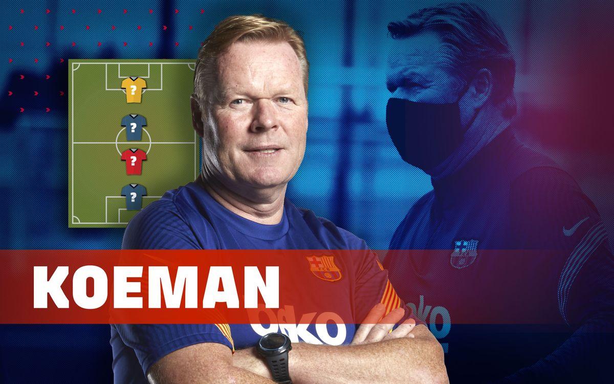 Koeman nous dévoile son top 4 des légendes préférées