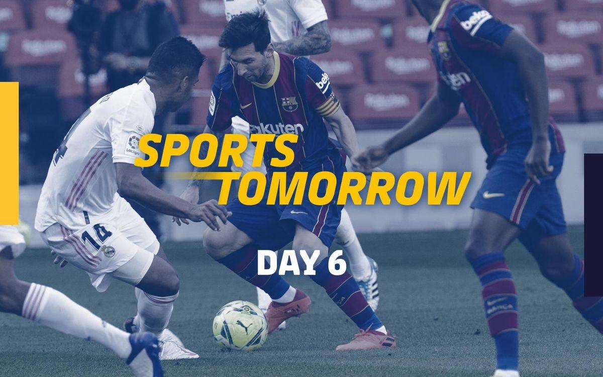 SPORTS TOMORROW - Day 6