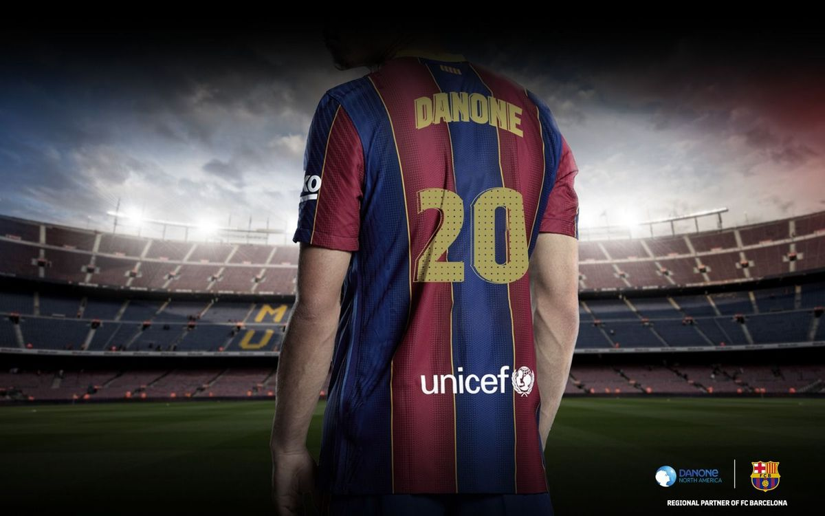 FC Barcelona announces groundbreaking partnership with Danone North America