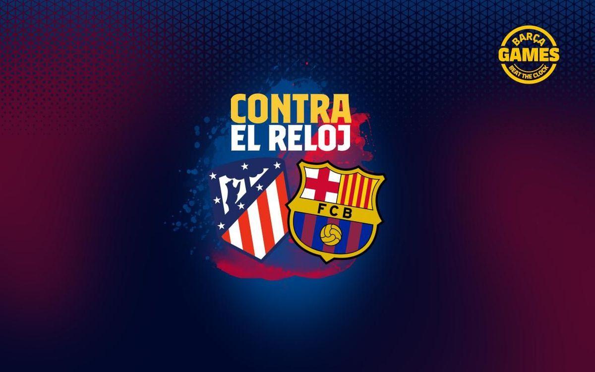 CONTRA EL RELOJ   Nombra los 8 futbolistas que han estado en Barça y Atlético de Madrid en el s. XXI