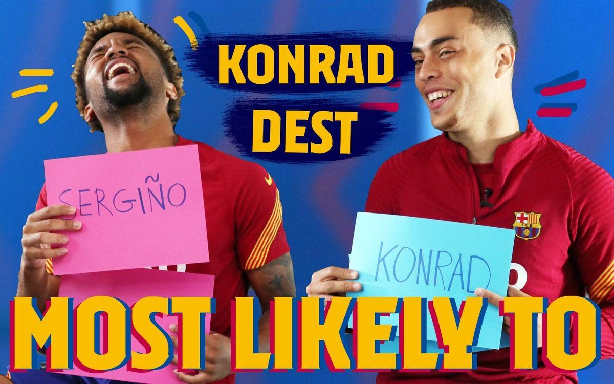 'Qui a le plus de chances de... ?' Avec les Américains du Barça