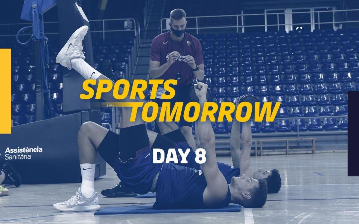SPORTS TOMORROW - Day 8
