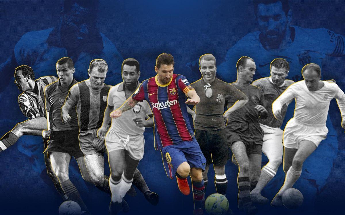 Los goleadores históricos que Messi ha dejado atrás