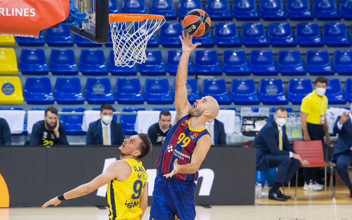 Torna el bàsquet al Palau Blaugrana