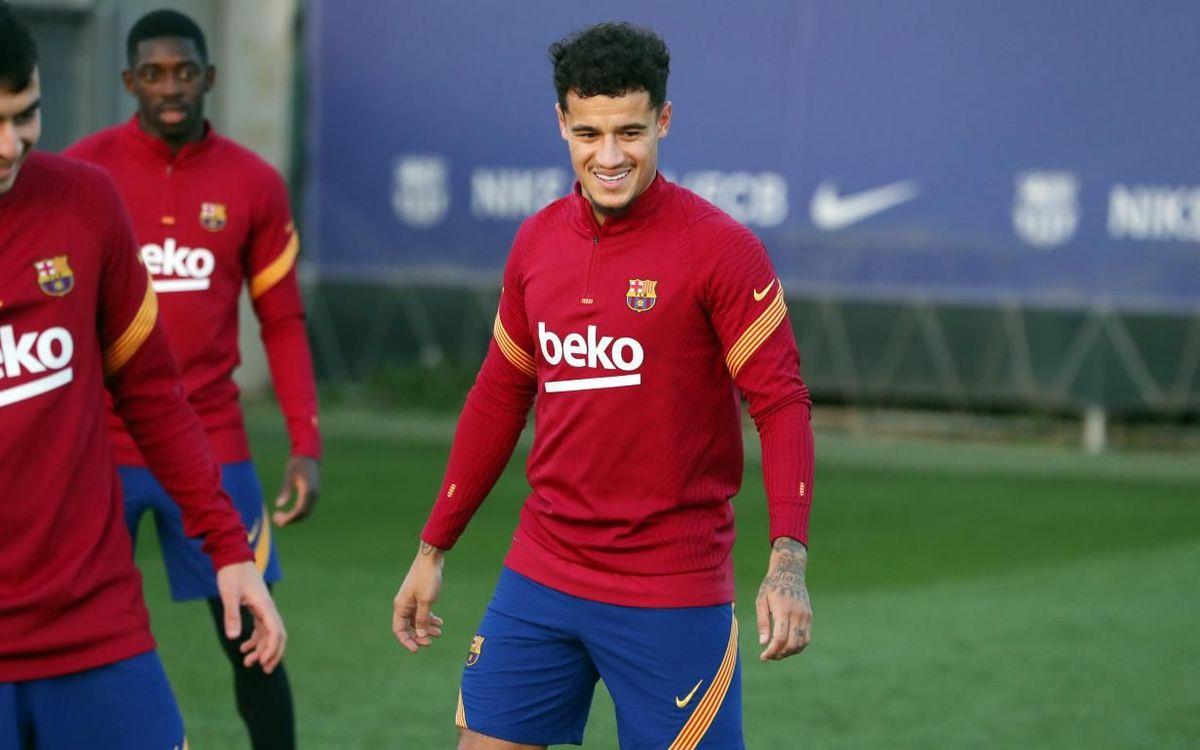 Coutinho, novetat en la convocatòria de l'Atlètic de Madrid - FC Barcelona