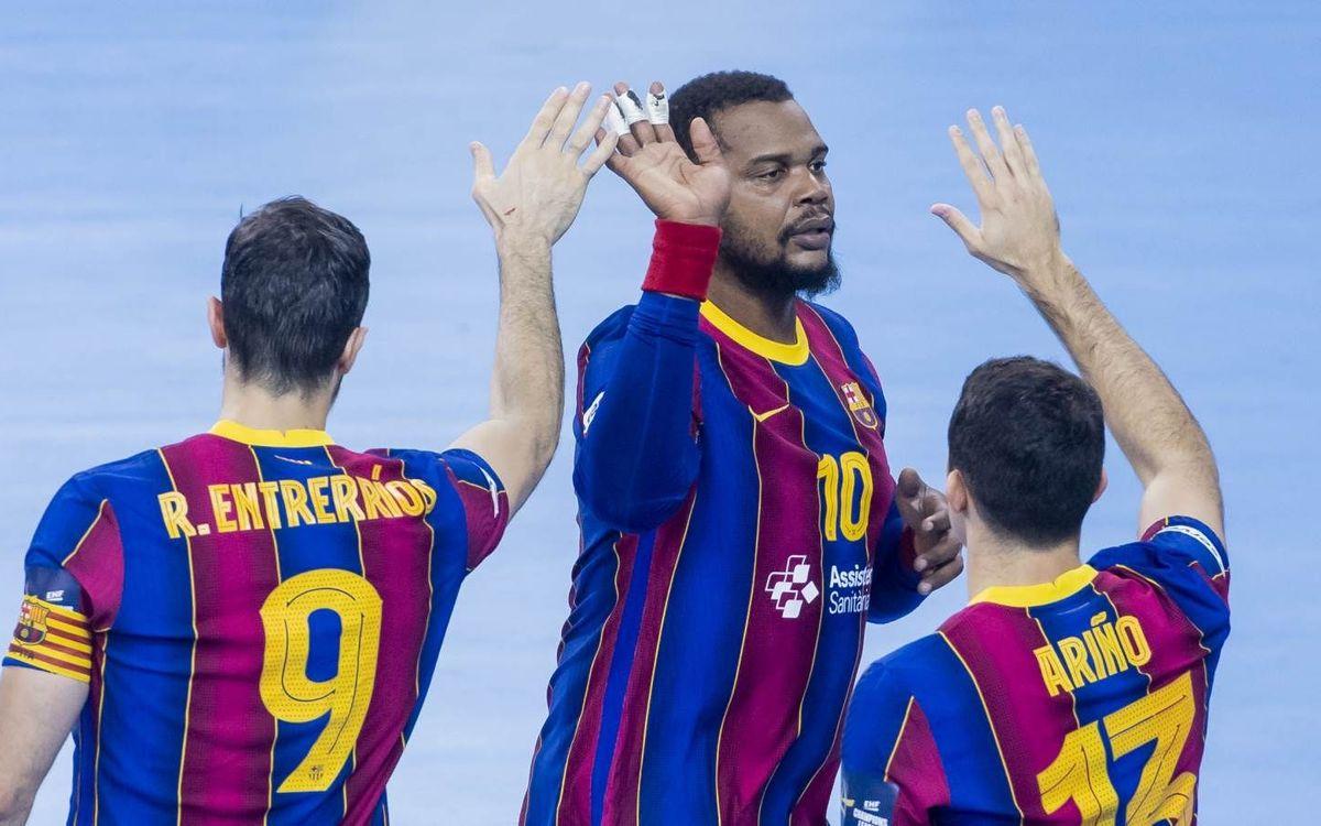 THW Kiel – Barça: El Clásico pone dos puntos de oro en juego