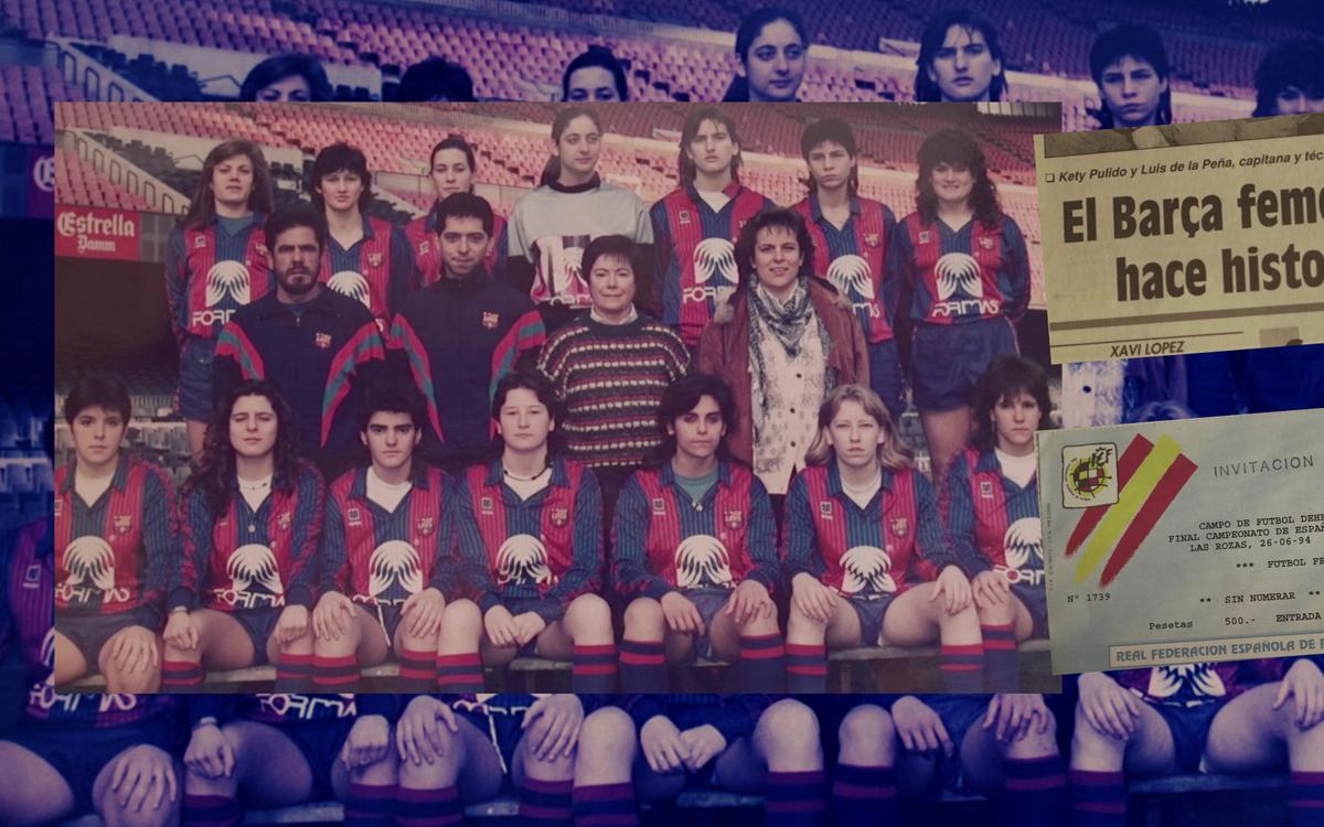 26 anys d'una fita que va canviar el FC Barcelona Femení