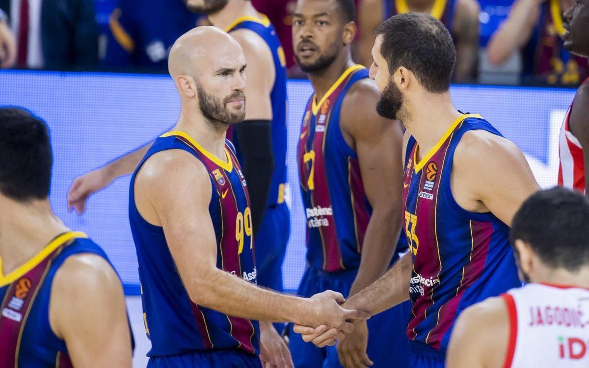 Barça - Estrella Roja: El líder sigue intratable (76-65)