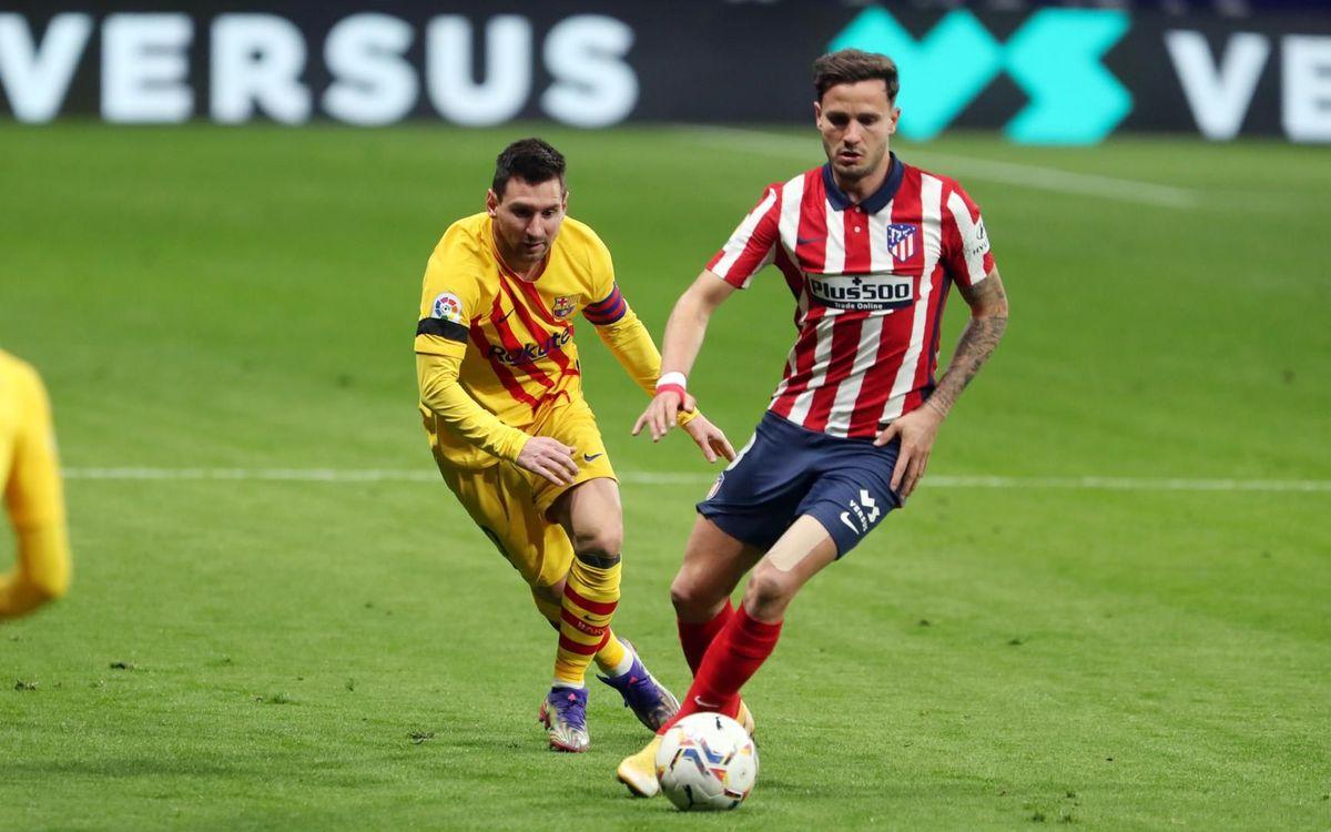 At. de Madrid - Barça : 1ère défaite au Wanda Métropolitano (1-0)