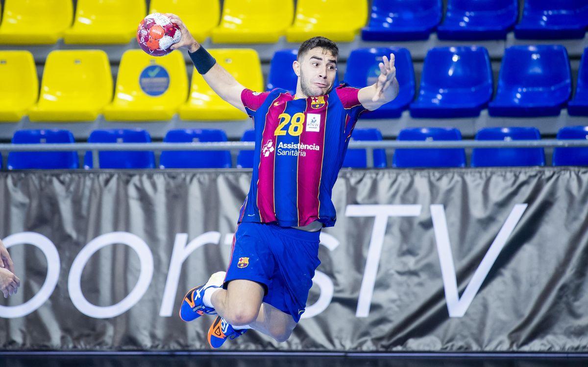 Barça-Incarlopsa Cuenca: Se imponen claramente (38-26)