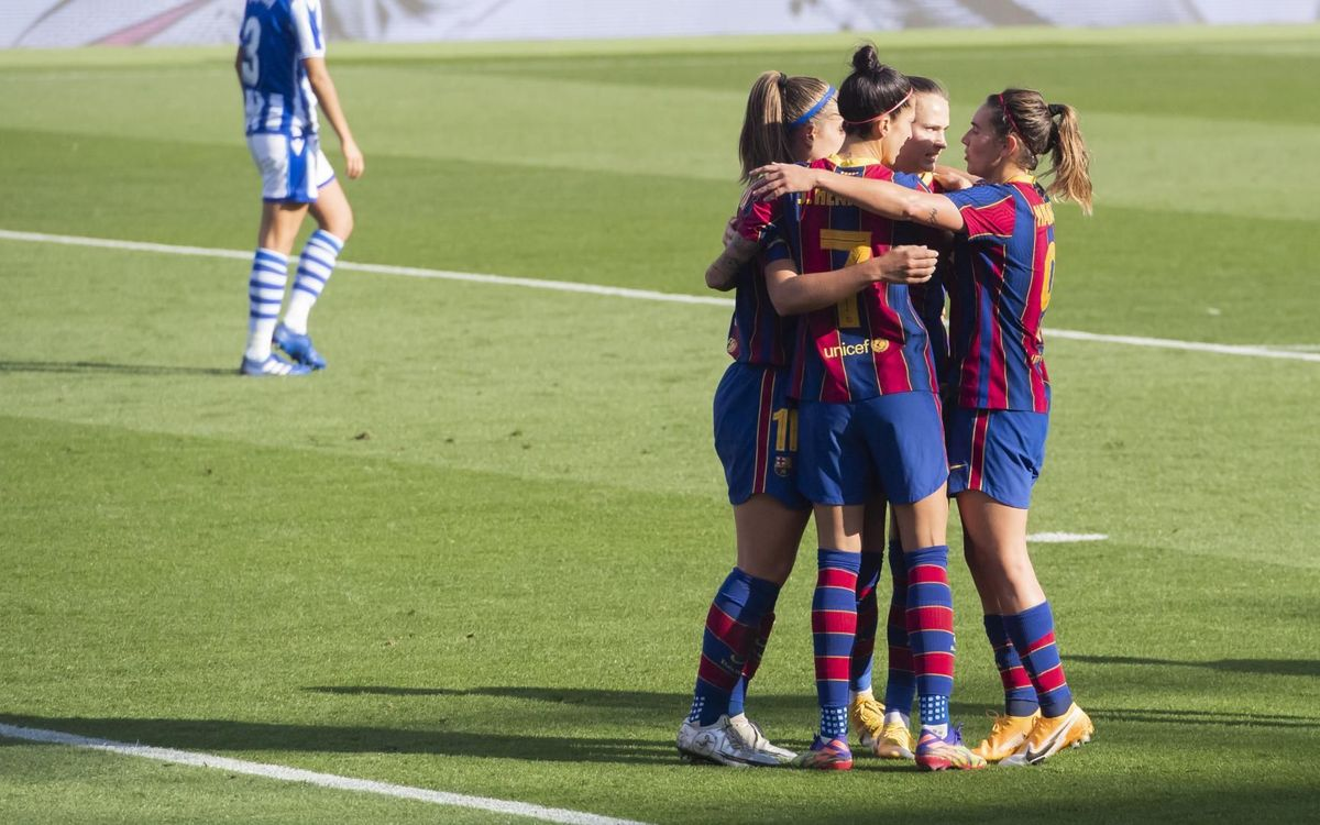 Barça Women 5-1 Real Sociedad: On a roll!