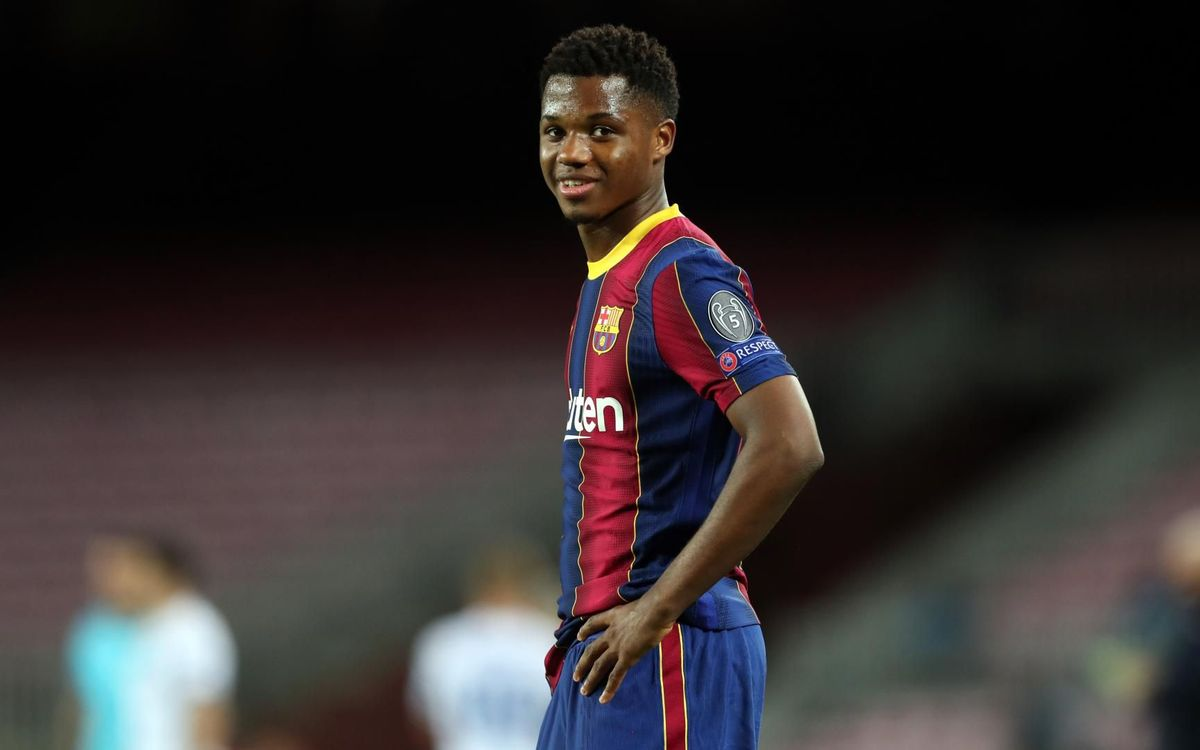 Ansu Fati, segundo en el Golden Boy 2020