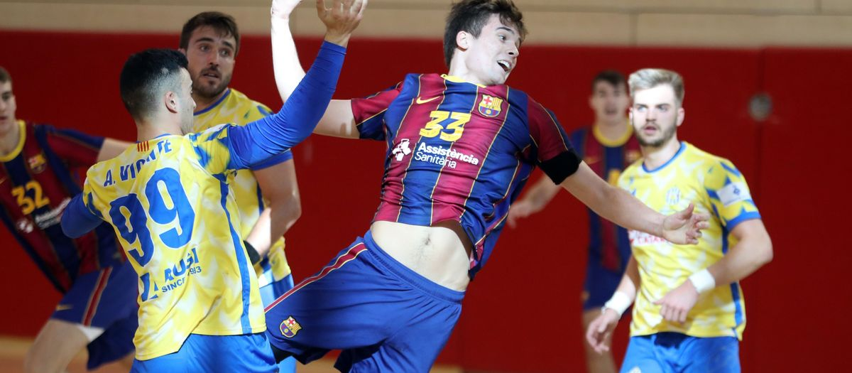 Barça B – UE Sarrià (33-29): Grau de maduresa
