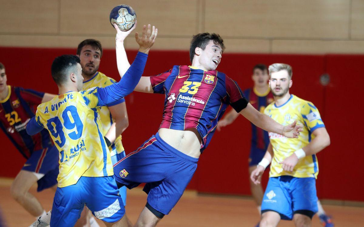 Barça B – UE Sarrià (33-29): Grado de madurez