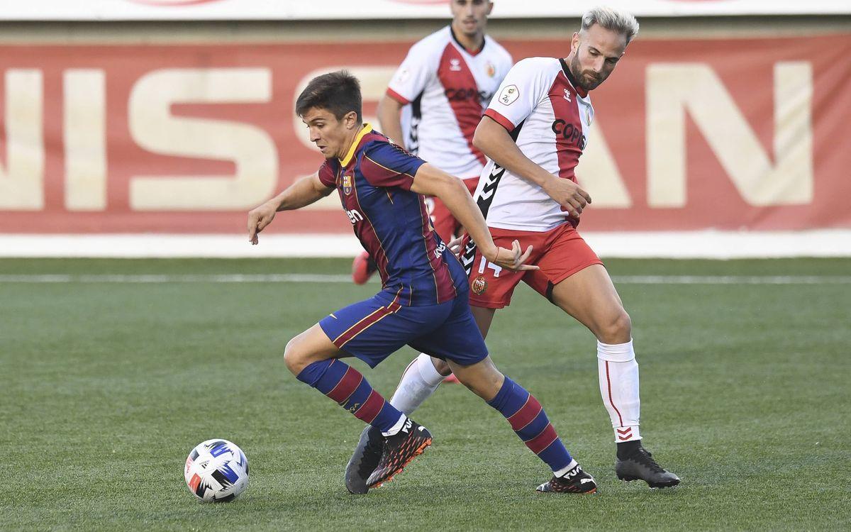 L'Hospitalet 2-0 Barça B: Great play without reward