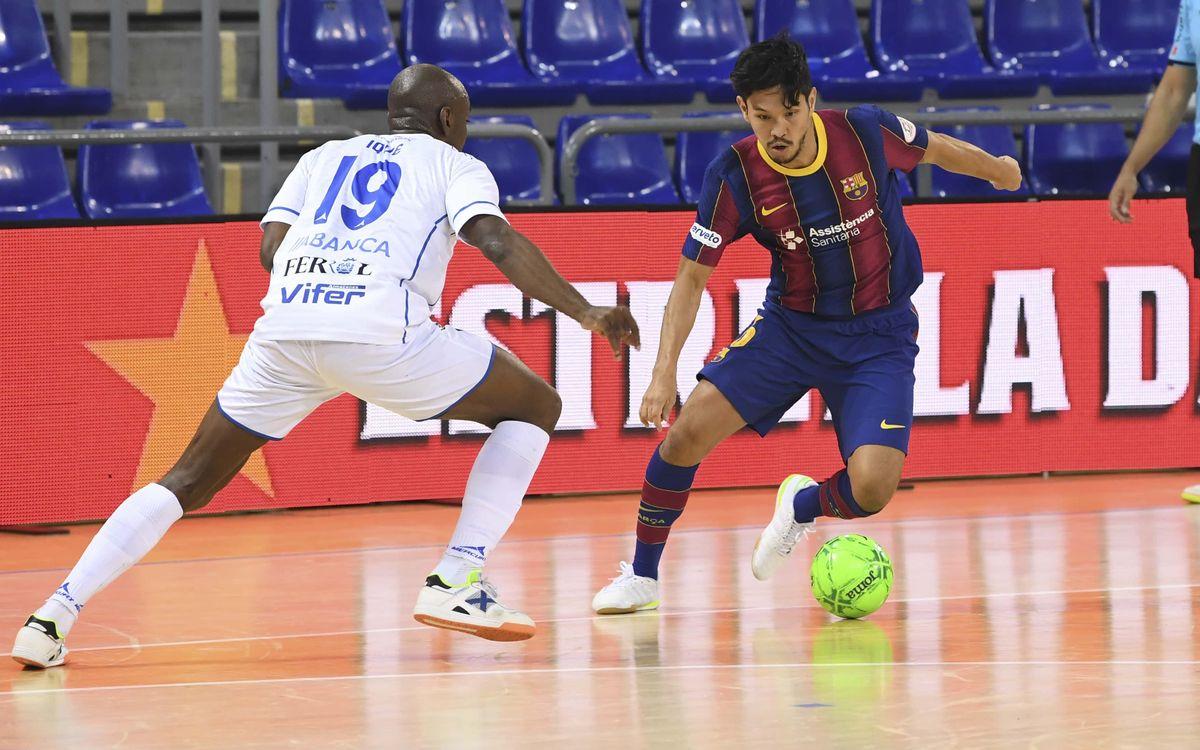 Barça - O Parrulo: Empat cruel (2-2)