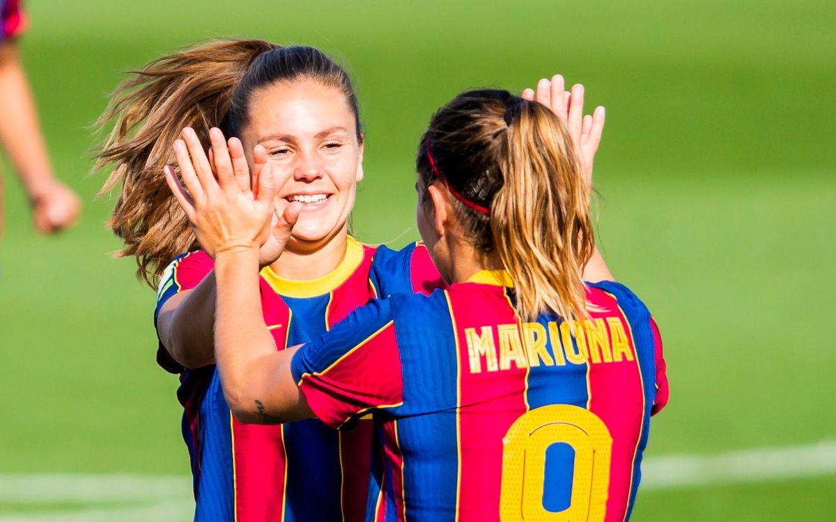 FC Barcelona Femení: Parada por selecciones