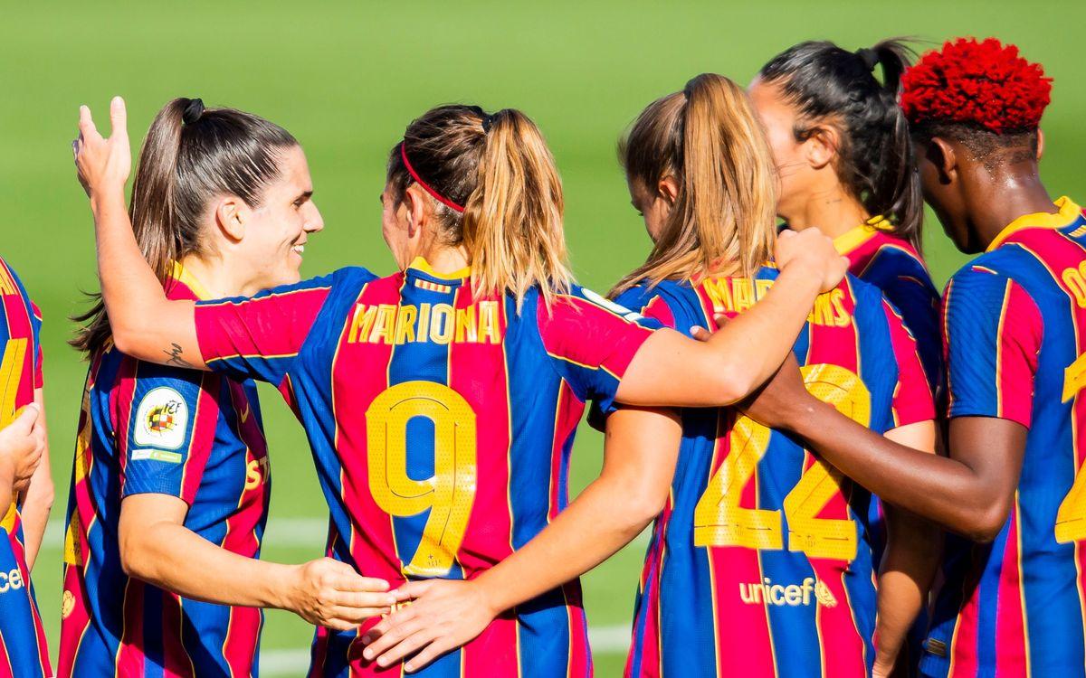 FC Barcelona Femení: El martes, sorteo de Champions