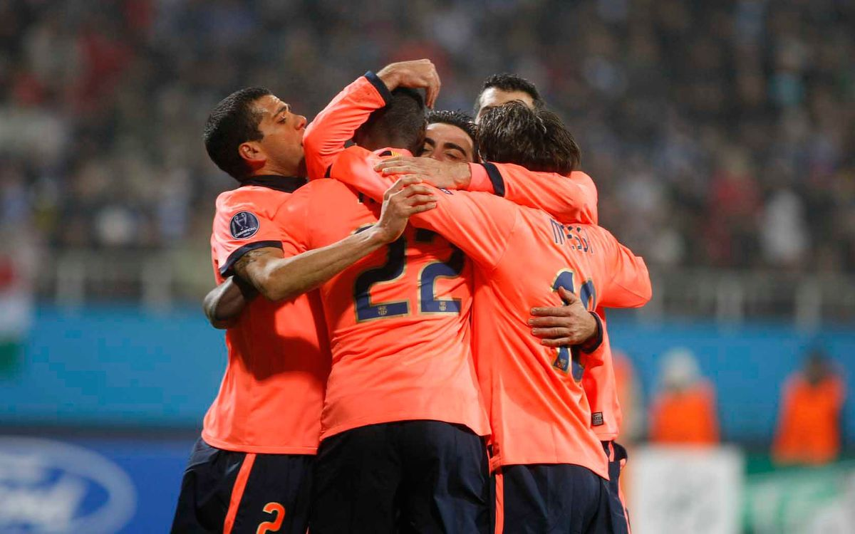 La última visita del Barça a Kiev