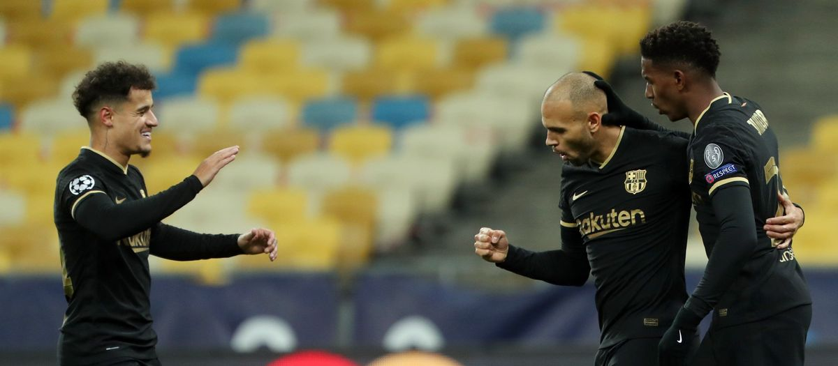 Dynamo Kyiv 0-4 FC Barcelona: Into the last sixteen!