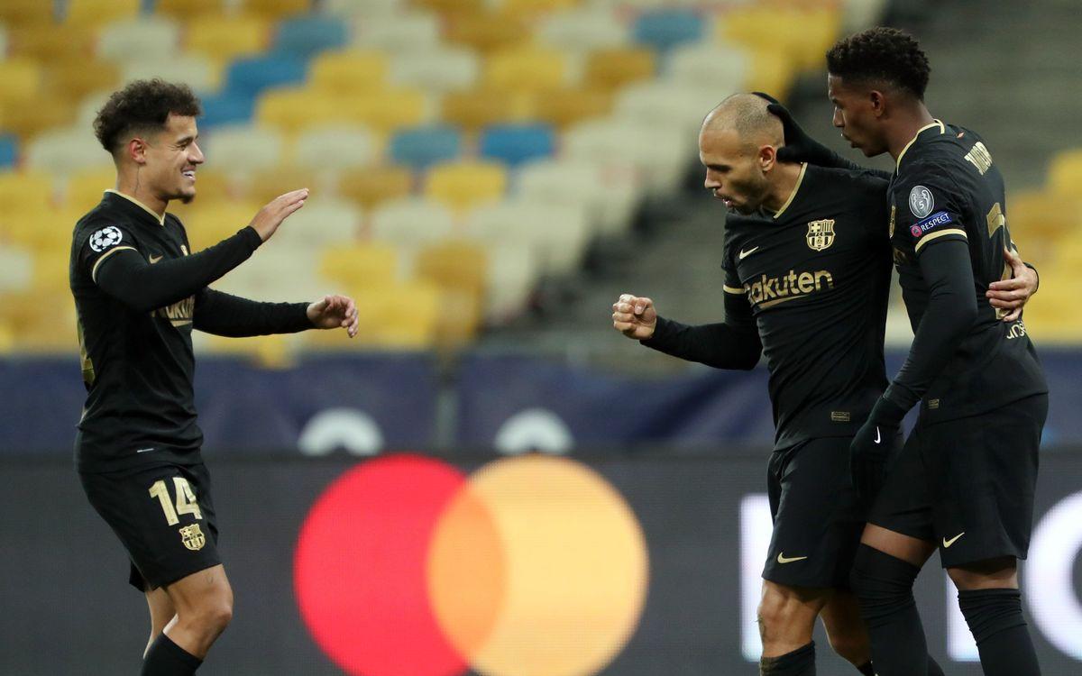 Dinamo de Kíev – FC Barcelona: Els vuitens ja ens esperen! (0-4)