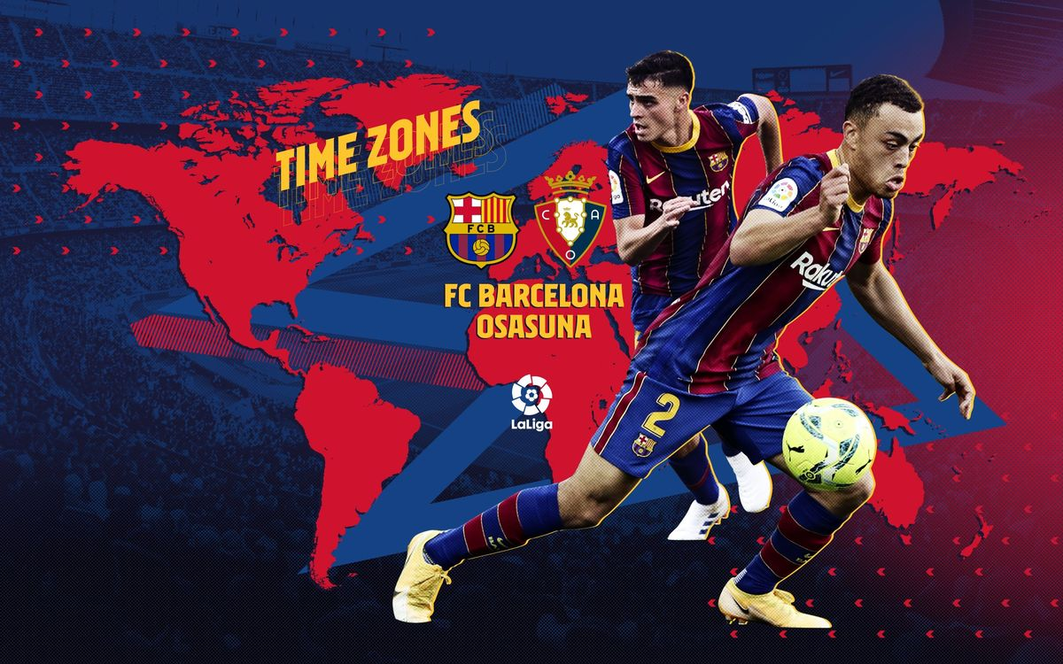 When and where to watch FC Barceona v Osasuna