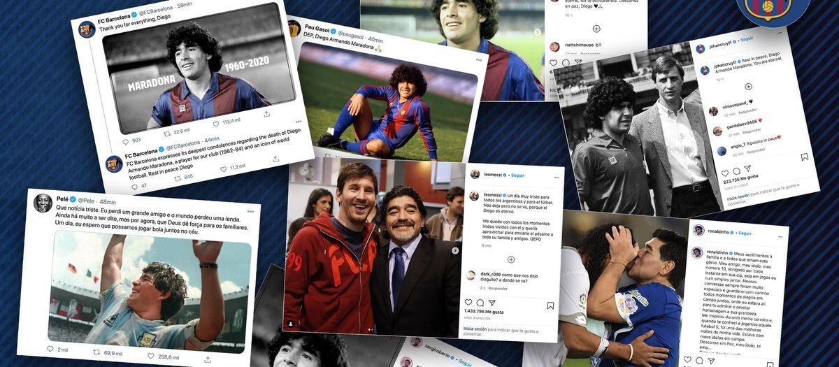Messi: 'Diego is eternal'
