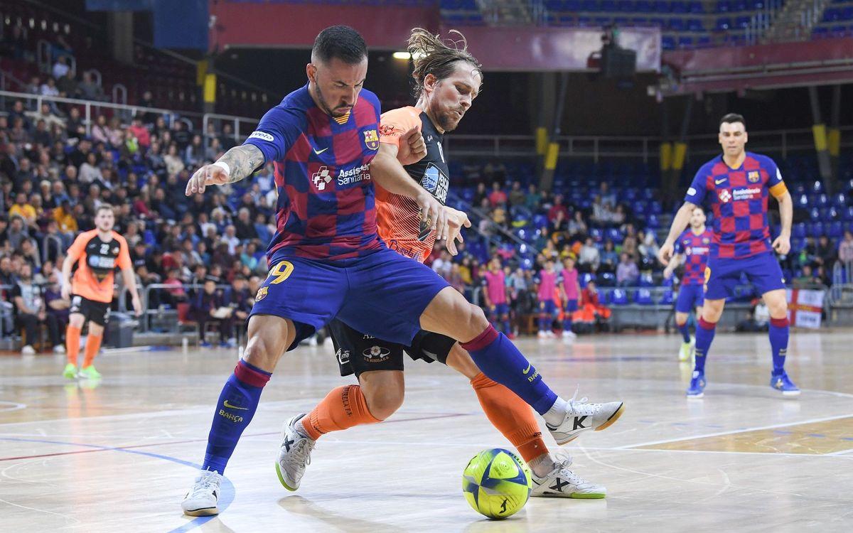Barça-Burela, en los octavos de Copa del Rey