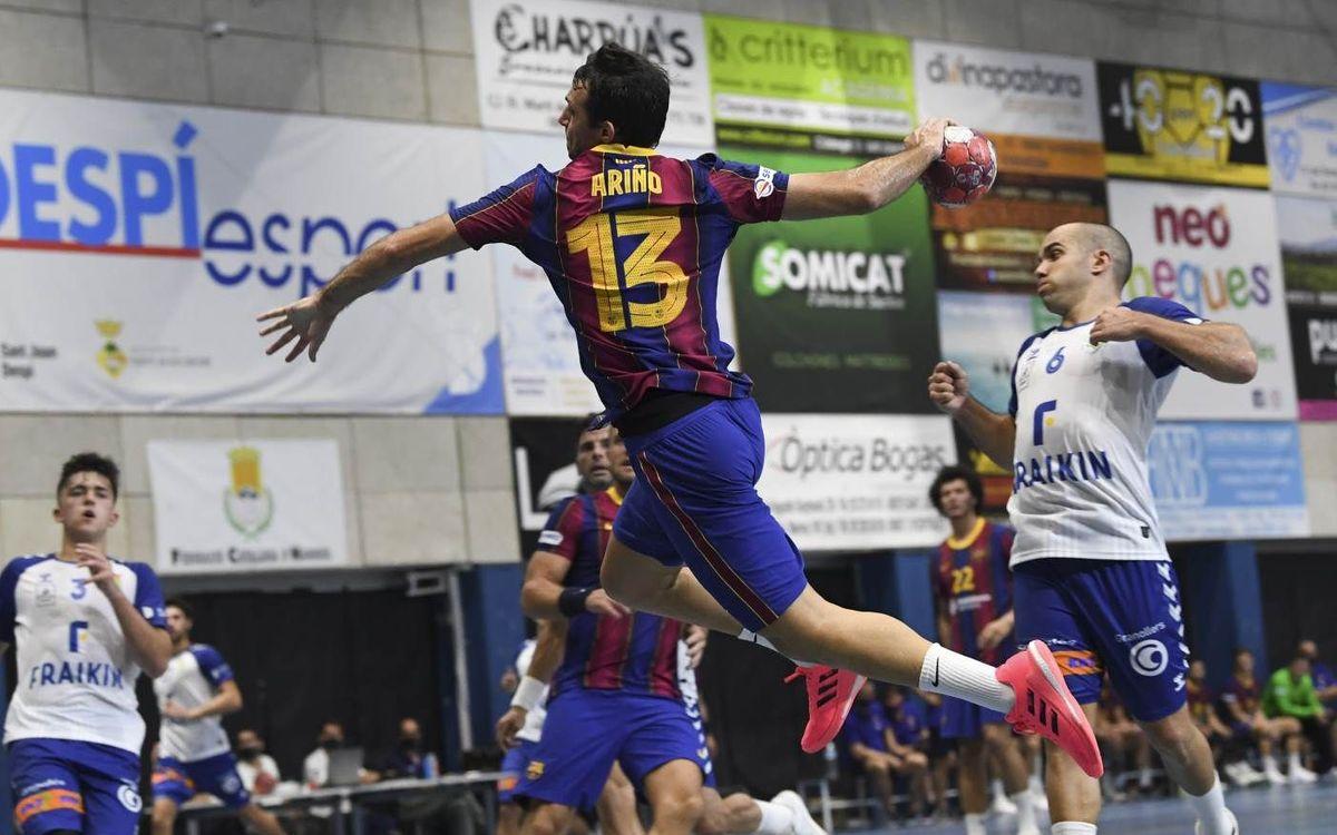 Fraikin Granollers – Barça: Els cinc sentits posats en el derbi