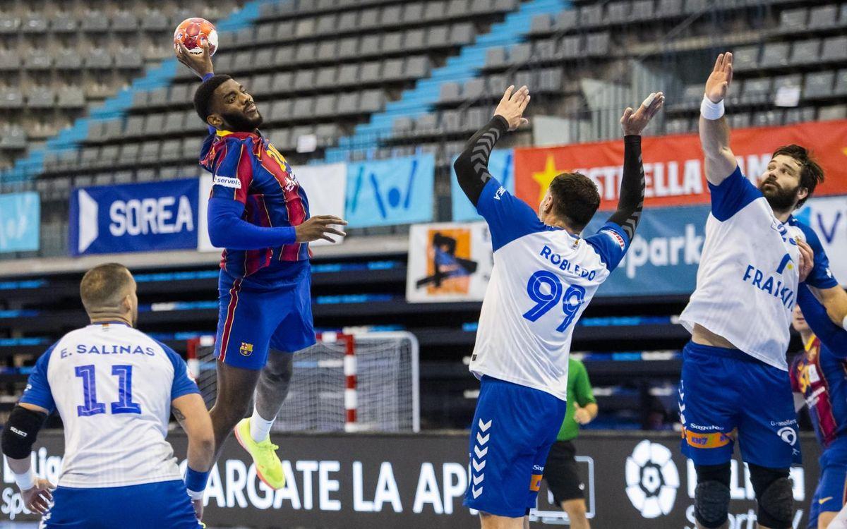 Granollers - Barça: El derbi es azulgrana (27-41)