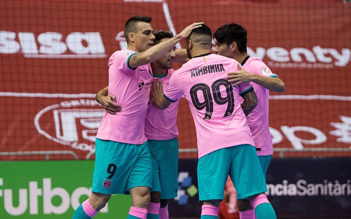 ElPozo Múrcia 0–3 Barça: A win with authority