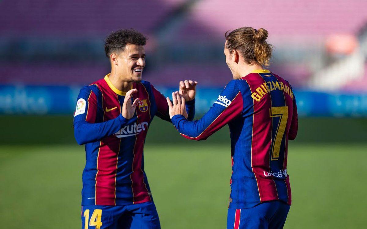 Barça - Osasuna: Cumpleaños con goleada (4-0)